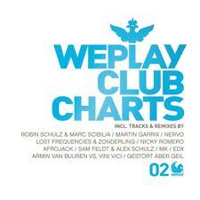 WEPLAY CLUB CHARTS.VOL.2 Robin Schulz. Afrojack. Alex Schulz 3 CD NEU