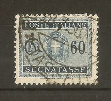 Italy 1934 60c SG.D402 Fine Used