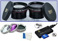 7Pc Super Saving HD Accessory Kit for Sony HDR-CX115e HDR-CX116e