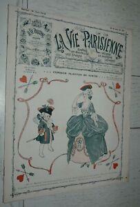VIE PARISIENNE 14-06 1913 COLETTE WILLY ENTRAVE WEGENER HEROUARD VALLEE FABIANO