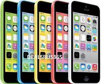 "Apple iPhone 5C 8GB 16GB 32GB GSM ""Factory Unlocked"" Smartphone Cell Phone"