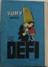 MINI STORY PONY dans LE CHALLENGE supplement SPIROU No.1328 Year 1964