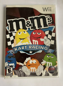 Nintendo Wii M&M MM Kart Racing Complete Cart Tested Working