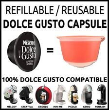 3 X Dolce Gusto Refillable Capsule set REUSABLE EMOHOME << SAVE MONEY >>
