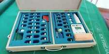 Valigetta artigianale CalcioDaTavolo subbuteo x miniature, portieri, accessori