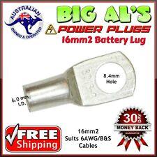10 x 16-8 16mm2-8mm Dual Battery Auto Automotive Cable Lug Connector Crimp 6B&S