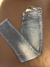 Ladies Replay Blue Jeans Waist 27 Length 32