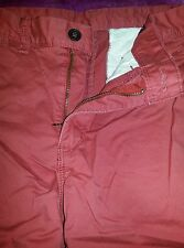 Express Men's Jeans - Red color 34 x 32