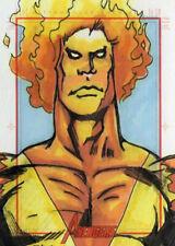 Marvel Greatest Heroes 2012 - Color Sketch Card by Javier Gonzalez # 2