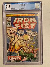 Iron Fist #4 CGC 9.6 White Pages Origin Of Radion