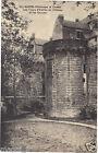 44 - cpa - NANTES - Les tours d'entrée du château et les douves (H5603)