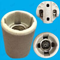 Small Edison Screw E14 SES Ceramic Socket Light Bulb Holders For Heat Lamps