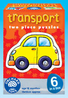 Orchard Toys 203 Transport Baby Infant Toddler First Jigsaw Puzzle 18 months +