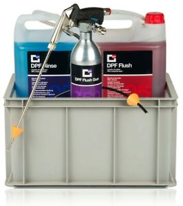 DPF Flush Kit includes Flush Gun, 5 litres flush and 5 litres rinse
