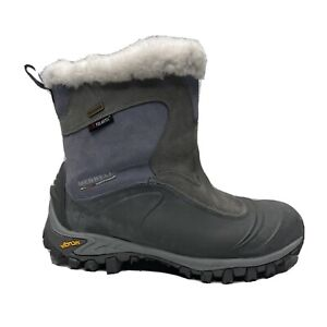 Merrell Thermo Juneau Continuum Waterproof Winter Boots Womens Size 10 Vibram