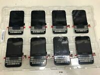 lots of 13 BlackBerry Q5 LCD Screen and Digitizer Assembly With Frame, Black,NEW
