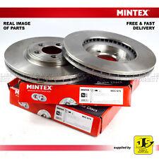 2X MINTEX FRONT DISC BRAKES MDC1879 FOR DAIMLER | JAGUAR S-TYPE - XF - XJ - XK