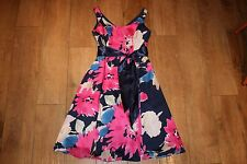 NEW! KALIKO 50's dress SIZE 10 swing fit & flare vintage occasion party skater