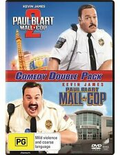 Paul Blart Mall Cop 1 + 2 (Kevin James) DVD R4 as New!