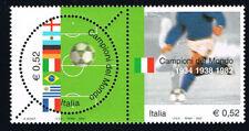 ITALIA FRANCOBOLLI CAMPIONI DEL MONDO ITALIA CALCIO 2002 nuovo** (BI11.716)