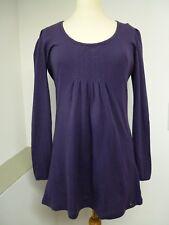 violettes Langarm- Nachthemd, Firma: SKINY, Gr. 40/L, Damen