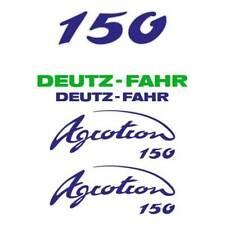 Deutz-Fahr Agrotron 150 tractor decal aufkleber sticker set