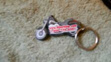BIKER HELP DOT COM MOTORCYCLE KEYCHAIN VINTAGE FREE USA SHIPPING