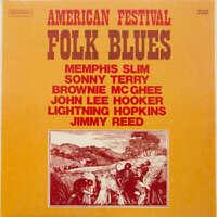 Various - American Festival Folk Blues (LP, Comp Vinyl Schallplatte - 163801