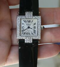 18 k Yellow and White Gold Chappele watch with 2.25 cts Diamonds