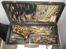 Vintage Royal Artist Curved Soprano Saxophone Buescher Stencil W/ Case VERY NICE