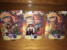 Monster Force by Playmates wolfman,Dracula, and Doc Reed Crawley