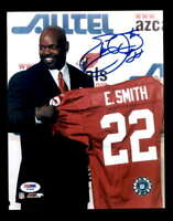 Emmitt Smith PSA DNA Coa Hand Signed 8x10 Autograph Photo
