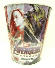 Marvel Studios Avengers End Game Tin Popcorn Bucket  Euc!