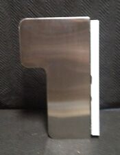 Bradley Wall Mounted Stainless Steel L-Shaped Shower Seat