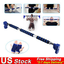 Doorway Pull Up Bar Home Gym Adjustable Width Exercise Fitness Strength Trainer