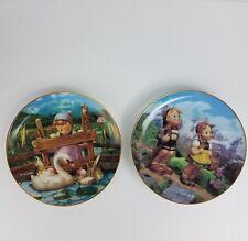 Hummel Collector Plate Little Companions Little Explorers Danbury Mint Lot Exc