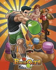 PUNCH OUT * Nintendo * Mini Poster * 40cm x 50cm * New *