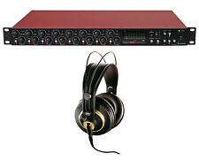 Focusrite Scarlett OctoPre Dynamic Adat 8-Channel Mic Preamp+Adat+Akg Headphone