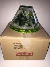 "YANKEE CANDLE ""Lucky Shamrocks"" Jar Candle Shade St.Patricks Day NWT Boxed VHTF"
