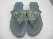 Colarado Ladies Slip On Shoes Size 7 Green Shades