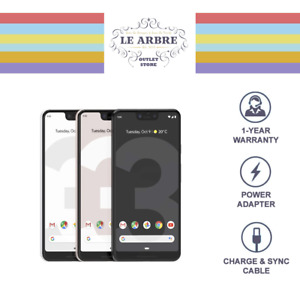 FULLY UNLOCKED ⭐ Google Pixel 3A XL 64GB WHITE BLACK EXCELLENT ⭐ T-MOBILE AT&T