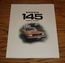 Original 1974 Volvo 145 Station Wagon Foldout Sales Brochure 74