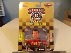 RACING CHAMPIONS BILL ELLIOTT COLLECTOR 50TH ANNIVERSARY RACE CAR