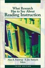 What Research Has to Say About Reading Instruction, S. Jay Samuels, Alan E. Fars