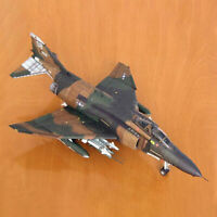 1:33 USA F-4B Ghost Fighter MiG Aircraft DIY 3D Paper Card Model A8A