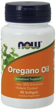NOW Foods  Oregano Oil, Enteric - 90 softgels  Free P&P