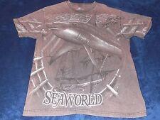 Seaworld Hammer Head Shark T-Shirt Adult Large