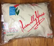 "Vintage Personally Yours Pillow 20"" x 26"" Medium Firmness Hollander Home Fashion"