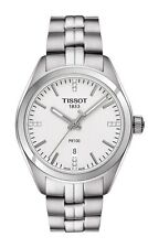 *BRAND NEW* Tissot Women's Silver Dial Stainless Steel  Watch T101.210.11.036.00