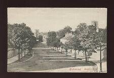Yorkshire Yorks RICHMOND Queens Road pre1919 PPC